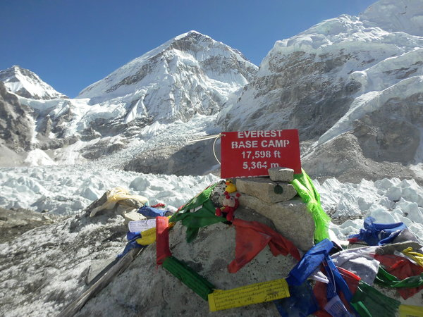 Mount Everest Base Camp 5364 m